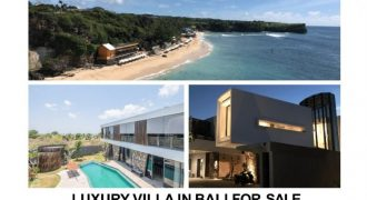 Fully Furnished Brand New Luxury Villa With Ocean View In Balangan